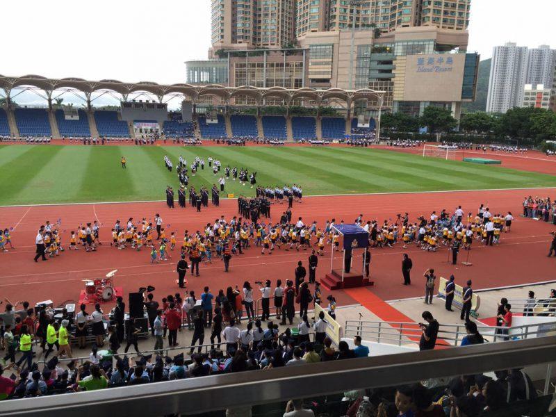 制服團隊步操  Uniform Group Annual Parade