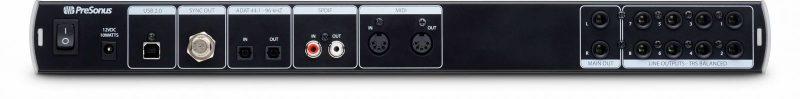 PreSonus-AudioBox-1818VSL-Rear